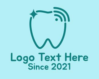 Oral - Sparkling Tooth Signal  logo design