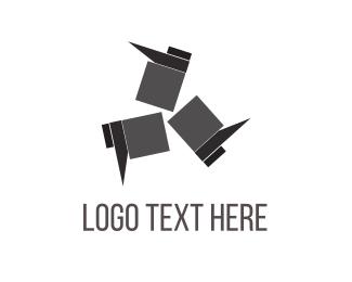 Black Footwear Logo