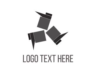 Boot - Black Footwear logo design