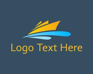 Cruise - Orange Cruise logo design