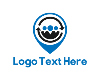 Family - People Locator logo design