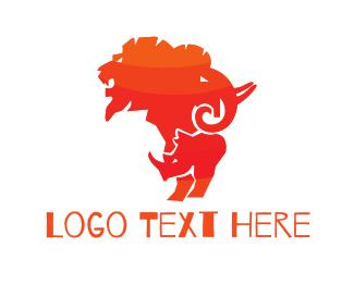 Savanna - African Safari logo design