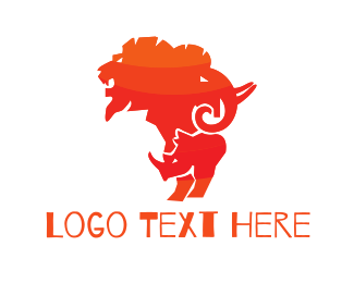 African - African Safari logo design