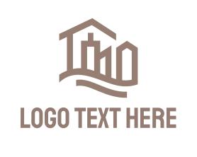 Town - Abstract City logo design