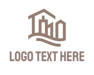 Skyline - Abstract City logo design