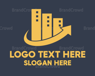 Business Center - Urban Growth logo design