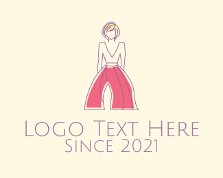 Girly - Women's Fashion Clothing logo design
