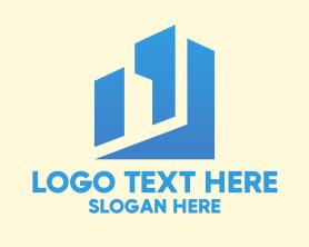Buildings - Simple City Buildings logo design