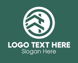 Steps - Circle House Realty logo design