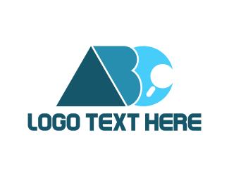 Acronym - Alphabet ABC Search logo design
