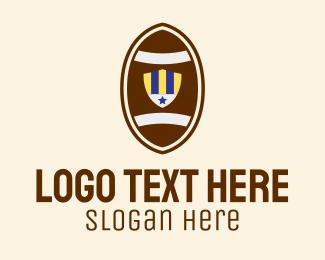 Football - Football Emblem logo design