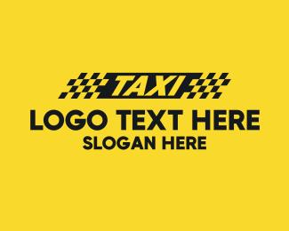 Car Service - Taxi Cab logo design