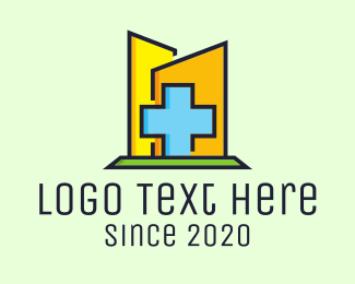Hospital - Blue Cross Hospital logo design