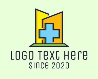 Physician - Blue Cross Hospital logo design
