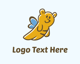 Bee - Teddy Bee logo design