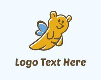 Entertainment - Teddy Bee logo design