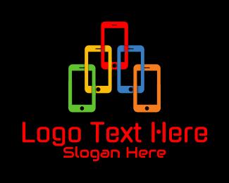Mobile Phone - Mobile Phone Gadget logo design