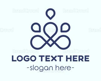 Meditation - Abstract Meditation logo design