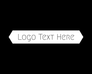 Text - B&W Minimalist Text logo design