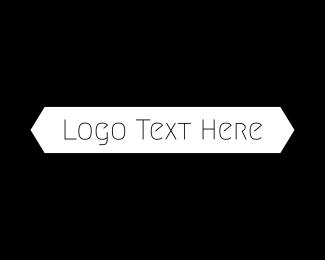Text - B&W Minimalist Text logo design