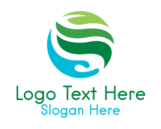 Holistic - Eco Sphere logo design