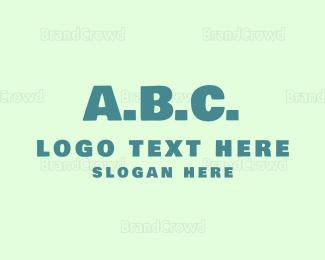 Acronym - ABC Alphabet logo design
