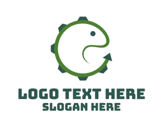 Snake - Lizard Gear logo design