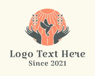 Outreach - Dove Welfare Charity  logo design