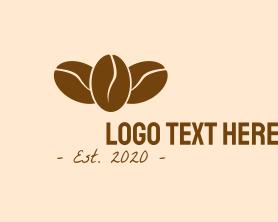 Coffee - Cafe Coffee Beans logo design