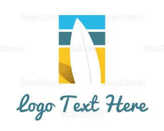 Beachwear - Surf Beach logo design