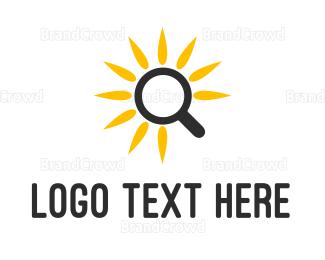 Research - Sunflower Research logo design