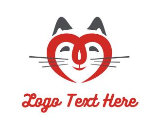 Kitty - Kitty Love logo design