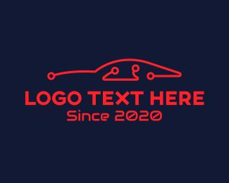 Garage - Car Auto Technology logo design