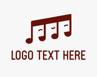 Mp3 - Pop Band logo design