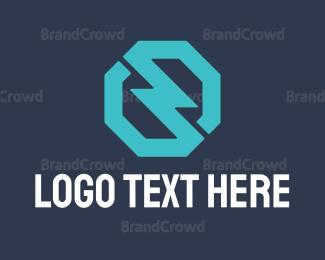 Electrical Energy - Electric Blue logo design