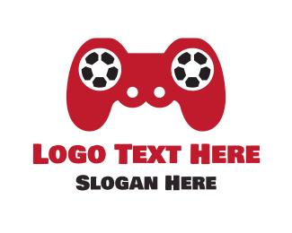 Soccer - Soccer Gaming logo design