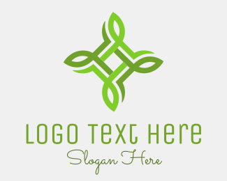 Ecological - United Leaves logo design