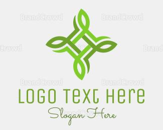 Biological - United Leaves logo design