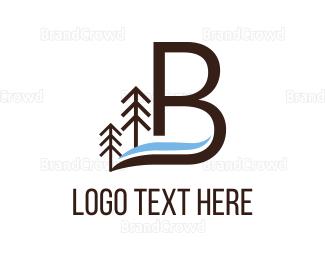 Flow - Letter B logo design