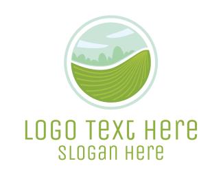 Green Circle - Agriculture Circle logo design