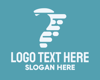 Quick - Fast Question Mark logo design