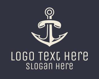 Security - Anchor Telephone logo design