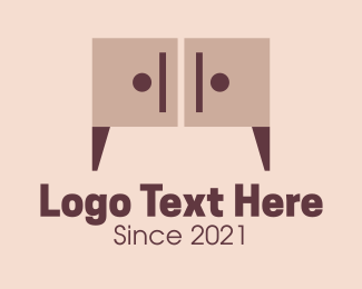 Wooden - Wooden Cabinet Furniture logo design