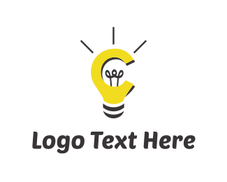 Idea - Bulb & Idea logo design