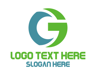 Algorithm - Blue Green Tech G logo design