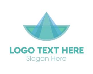 Canoe - Blue Boat logo design