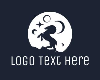 Moon Ram Logo Maker