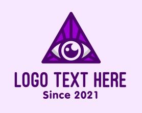 Punk - Triangular Eye logo design