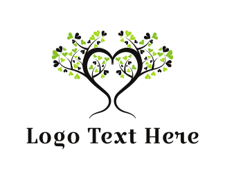 Counseling - Heart Tree logo design