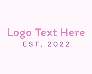 Handwriting - Girl Handwriting logo design